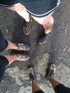 This mud was earned.