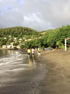 Feeling some peace on the beach.